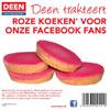 gratis-roze-koeken-bij-deen